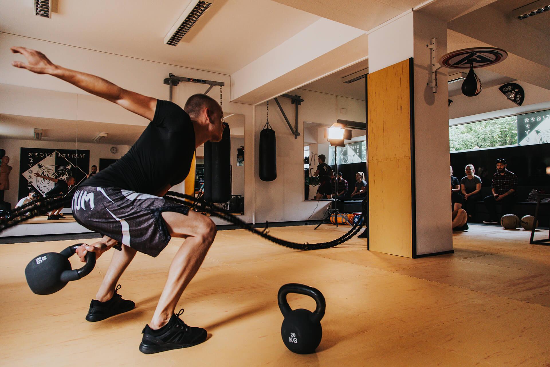 White Tiger Revolution Kurse Fitness