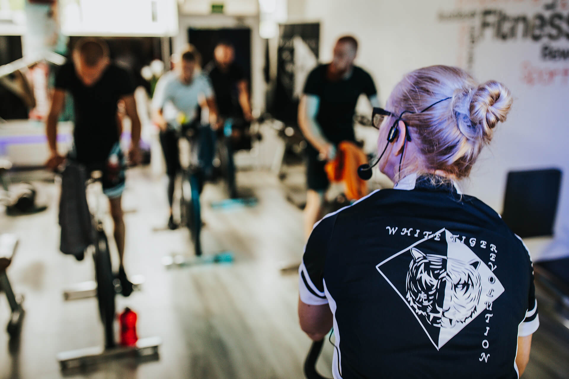 White Tiger Revolution Indoor Cycling Special